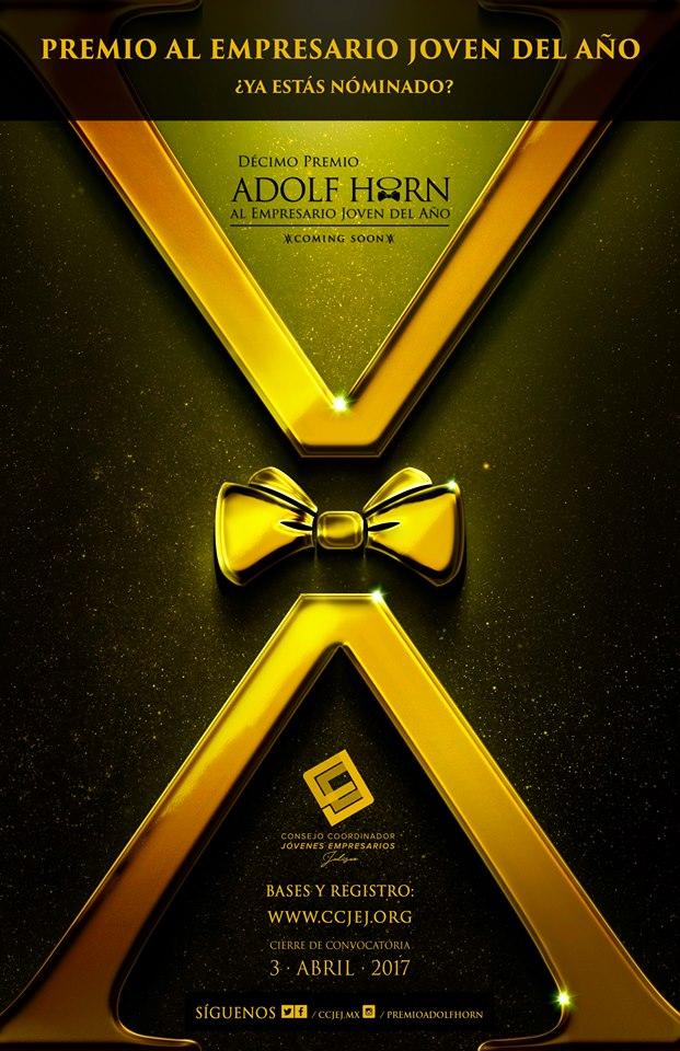 Decimo Premio ADOLF HORN al emprendedor joven del año